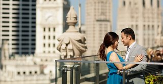 engagement photo session in the city of chicago bob and dawn davis