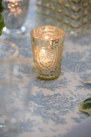 candle-glass-holder-blue-and-white-wedding-decor-southern-charm-wedding