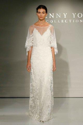 jenny-yoo-bridal-2016-wedding-dress-with-capelet