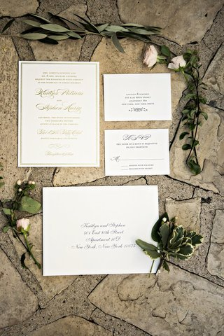 gold-ivory-invitation-suite-wedding-calligraphy