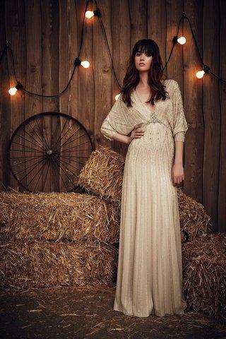 jenny-packham-2017-bridal-collection-montana-wedding-dress-beaded-skirt-dolman-sleeves