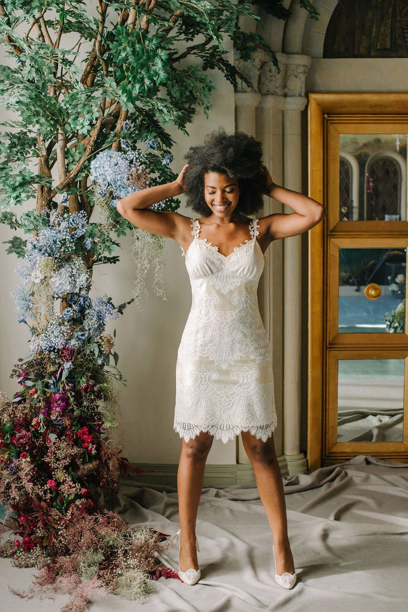 """Jonquil"" Dress by Claire Pettibone"