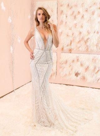 gala-no-3-collection-gala-by-galia-lahav-tight-mermaid-wedding-dress-crystal-embellishments-v-neck
