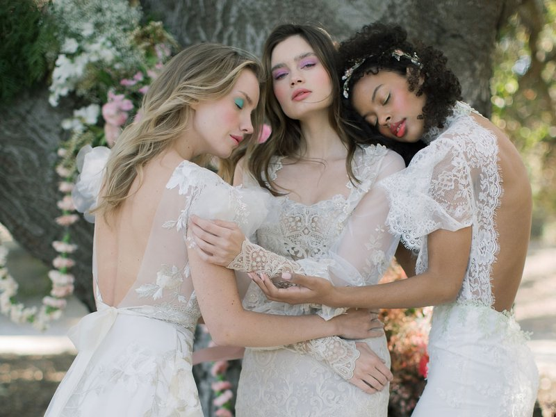 "Close Up of ""The Three Graces"" by Claire Pettibone"