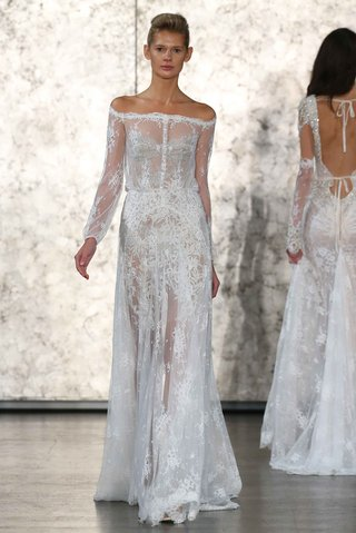 inbal-dror-fall-winter-2016-collection-off-the-shoulder-lace-dress