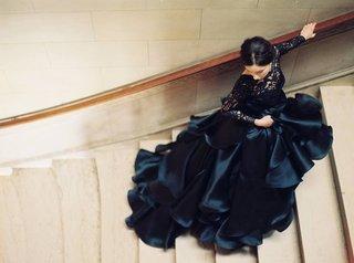 sareh-nouri-black-gown