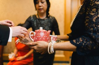 tea-service-with-red-and-white-china-for-a-chinese-tea-ceremony-ritz-carlton-battery-park