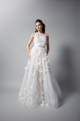 randi-rahm-fall-2018-wedding-dress-bridal-collection-kate-winslet-with-sheer-skirt-bodice-petals