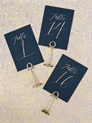 wedding-reception-table-numbers-black-card-stock-stationery-gold-stand-gold-calligraphy