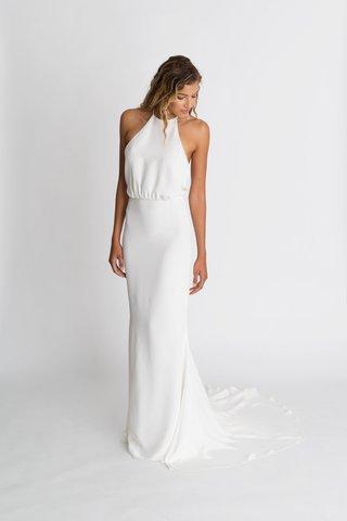 alexandra-grecco-fall-winter-2018-the-magic-hour-wedding-dress-nico-silk-crepe-gown-halter-neck