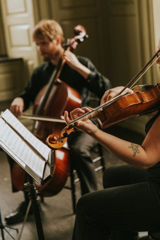 wedding-ceremony-entertainment-cello-viola-violin-players-in-sunlit-venue-historic-colony-house