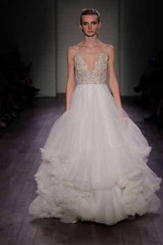 hayley-paige-2016-silver-beaded-illusion-bodice-and-petticoat-inspired-skirt-wedding-dress