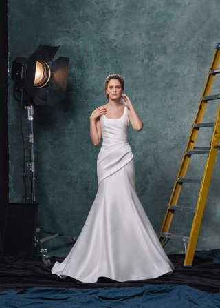 sareh-nouri-fall-2019-bridal-collection-wedding-dress-salma-draped-trumpet-gown-scoop-neckline