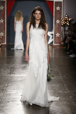 jenny-packham-2018-collection-harmony-ivory-silk-chiffon-fringe-studded-lace-panel-gown