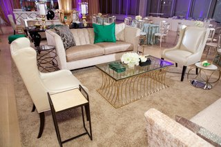 wedding-cocktail-hour-with-chic-furnishings