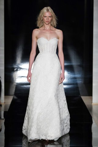 reem-acra-spring-2017-strapless-a-line-wedding-dress-with-corset-bodice-reembroidered-lace