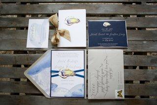 oyster-invitation-suite-coastal-florida-wedding-beach-ocean-sea-blue-champagne-details-gray