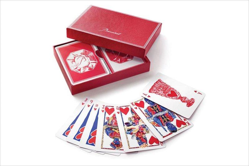 Baccarat Poker Set from Gearys