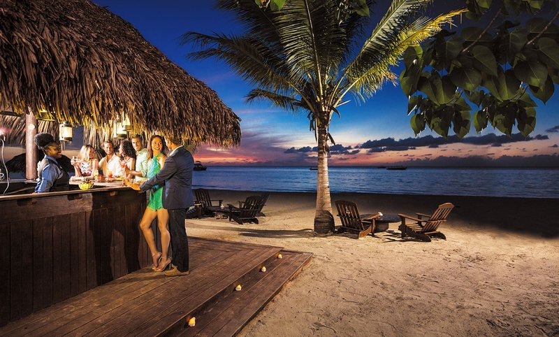 Couple at Beaches Resorts Bar