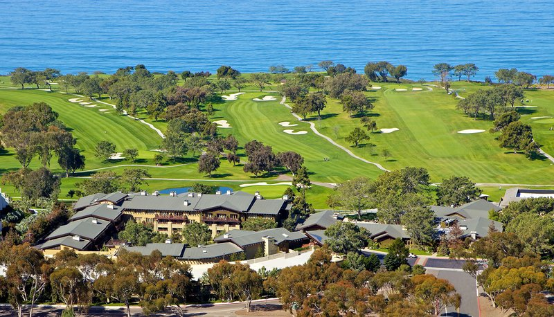 The Lodge at Torrey Pines - Aerial View