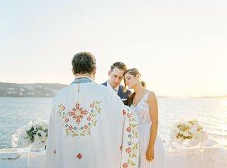ocean-view-wedding-ceremony-mykonos-greece-destination-wedding-greek-orthodox-service