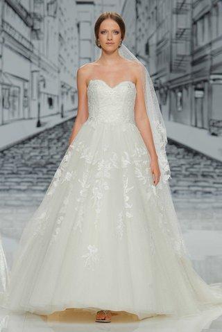 justin-alexander-spring-summer-2017-strapless-ball-gown-a-line-wedding-dress-sequin-applique-veil