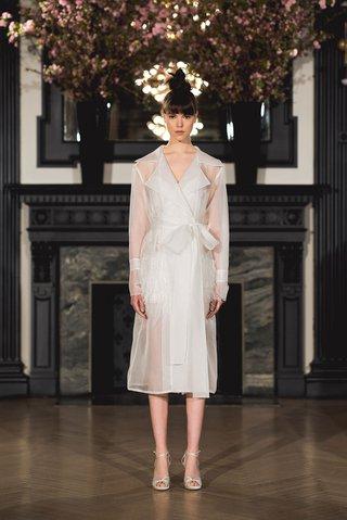 ines-di-santo-spring-2019-bridal-collection-wedding-dress-hailey-coat-organza-trench-bridal