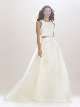 carolina-herrera-two-piece-wedding-dress-with-crop-top-in-flower-print