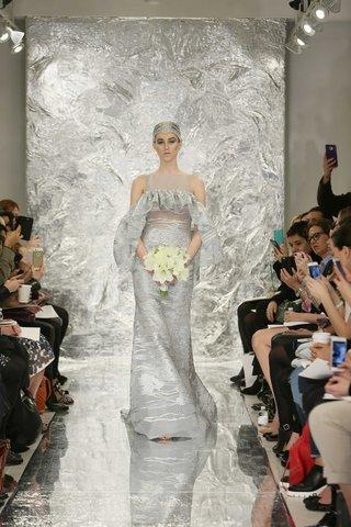 theia-spring-2017-aura-grey-silver-wedding-dress-with-ruffle-silk-jacquard-gown