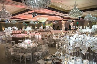 four-seasons-westlake-village-ballroom-chandeliers-orchids-white-silver-blush-color-scheme