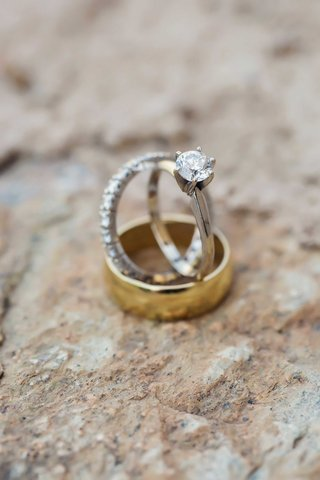 gold-mens-wedding-ring-band-eternity-band-diamonds-solitaire-round-diamond-engagement-ring