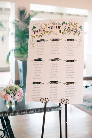 wedding-seating-chart-with-floral-details