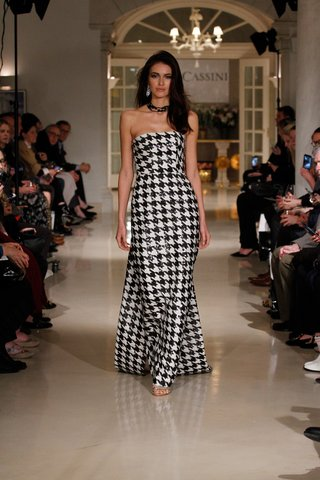 oleg-cassini-fall-2018-bridal-collection-spring-2019-couture-dress-black-white-houndstooth-sequin