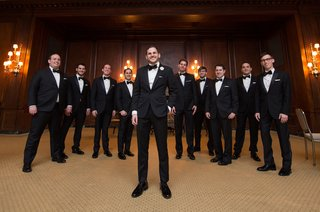 groom-in-bonobos-tuxedo-and-bow-tie-groomsmen