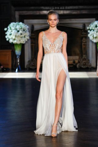 alon-livne-white-fall-2016-illusion-bodice-and-chiffon-skirt-with-slit-wedding-dress