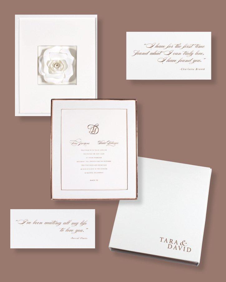 """Handmade Rose"" Invitation by Lehr and Black"