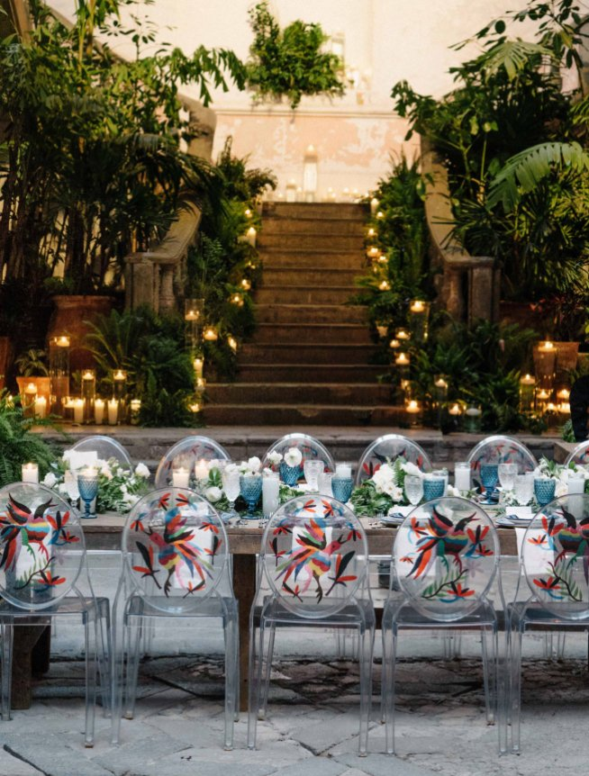 Mexico Destination Wedding Chairs