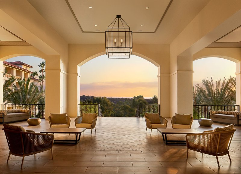 Lobby Terrace at Park Hyatt Aviara Resort