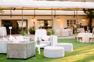 silver-ivory-lounge-furniture-lawn-faux-wedding-party-styled-shoot-rustic-event-sofas-chairs-tables