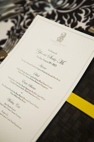 wedding-menu-with-ritz-carlton-logo-at-top