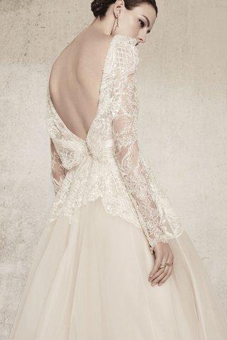 elie-saab-spring-summer-2018-gown-embellished-bodice-low-v-back-long-sleeves-tulle-skirt