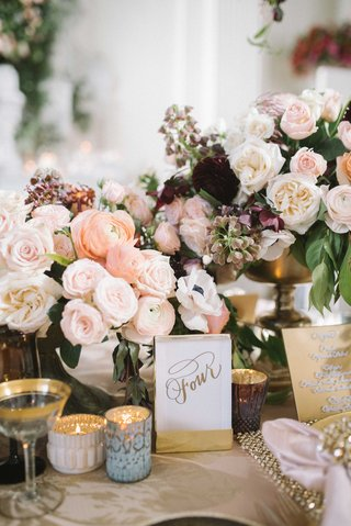 gold-calligraphed-table-numbers-at-garden-tablescape-with-ranunculus-rose-and-anemone-flowers