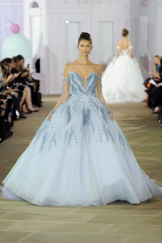 ines-di-santo-brielle-fall-2017-blue-ball-gown-natural-waist-beading-detachable-illusion-sleeves