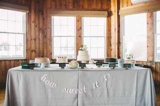 how-sweet-it-is-dessert-table-five-cakes-maine-wedding-yummy-confections-reception-food-favors-cake