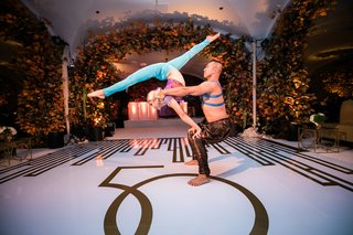 acrobatic-dancers-with-contortionist-at-wedding-reception-50th-anniversary-party
