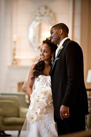 african-american-couple-after-wedding-ceremony