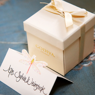 sylvia-weinstocks-godiva-wedding-favor