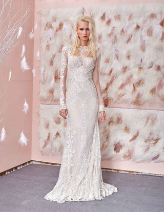 gala-no-3-collection-gala-by-galia-lahav-long-sleeve-high-neck-lace-wedding-dress-with-sheer-detail