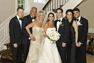 formal-wedding-guests-with-bride-and-groom