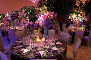 indoor-reception-with-tropical-and-colorful-flower-arrangments